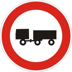 Пътен знак номер В5