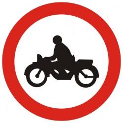 Пътен знак номер В8
