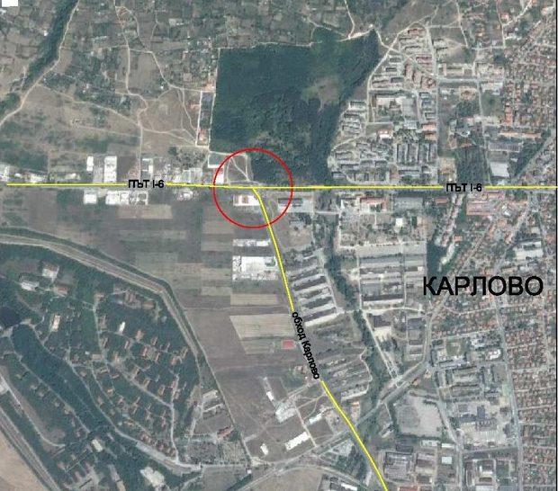 """""""ПСТ Груп"""" ЕАД ще изпълни строителството на кръгово кръстовище при км 254+257 на Път I-6 """"София-Бургас"""""""